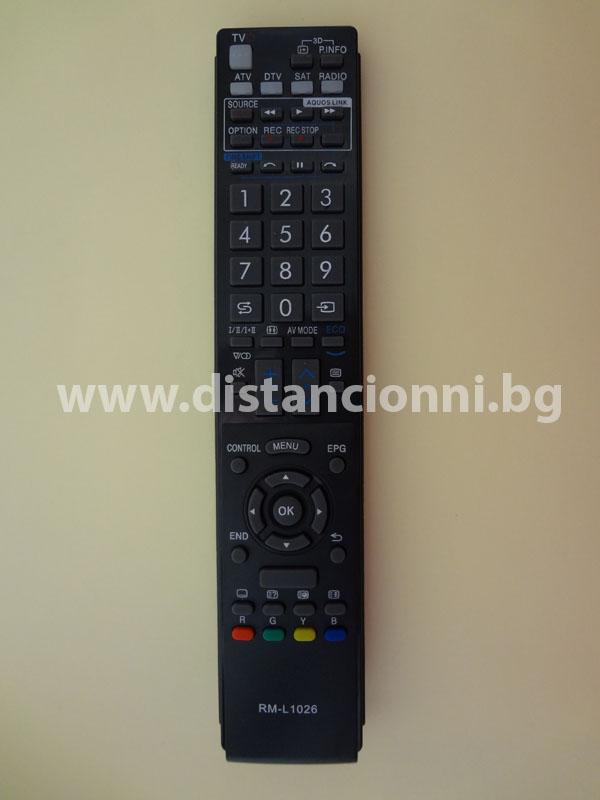 Дистанционно управление за SHARP RM-L1026