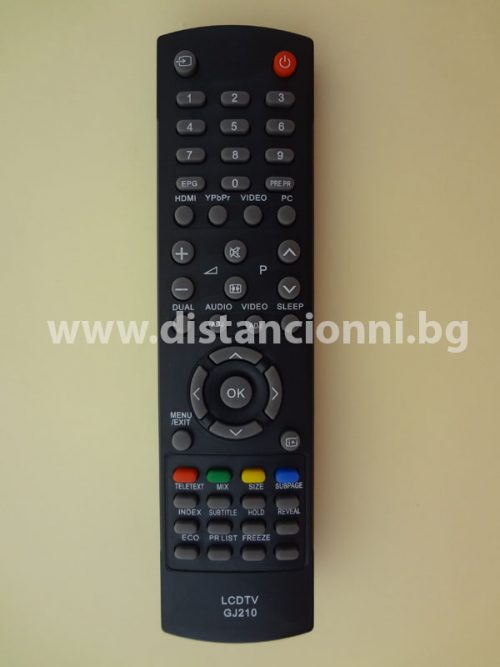 LCD TV GJ210 distancionni.bg