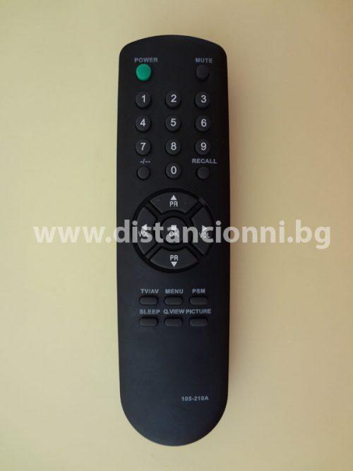 Дистанционно управление за GOLD STAR 105-210A
