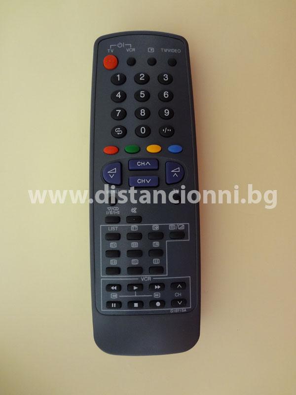 Дистанционно управление за SHARP G1071SA