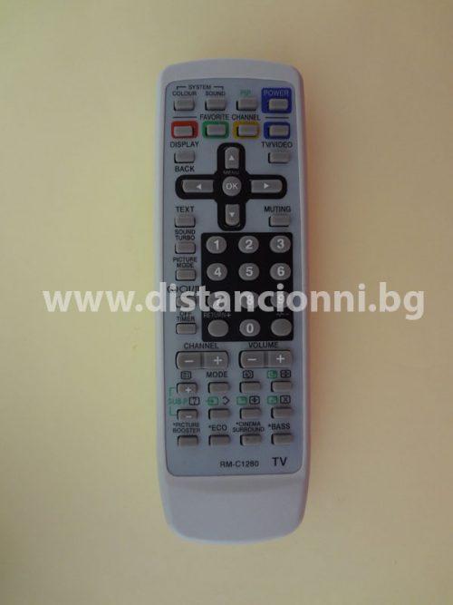 Дистанционно за телевизор JVC RM-C1280
