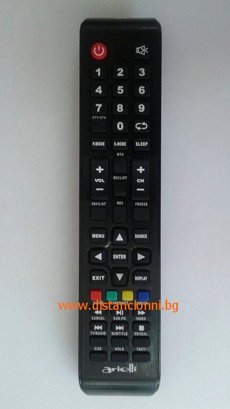Дистанционно управление за ARIELLI 2498HD