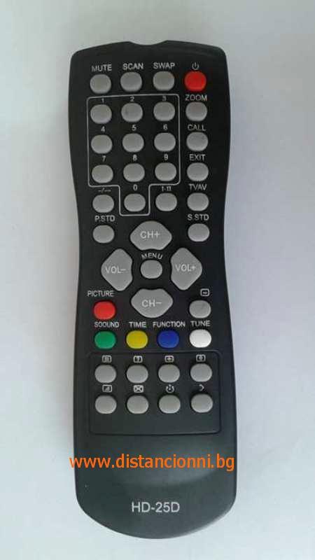 Дистанционно управление за HAIER HD-25D