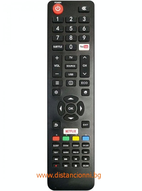 Дистанционно управление за STRONG SMART TV