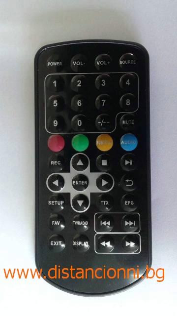 Дистанционно управление за SANG DVB-T HD1010