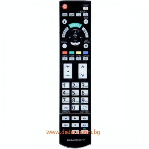 Дистанционно управление за PANASONIC N2QAYB000715