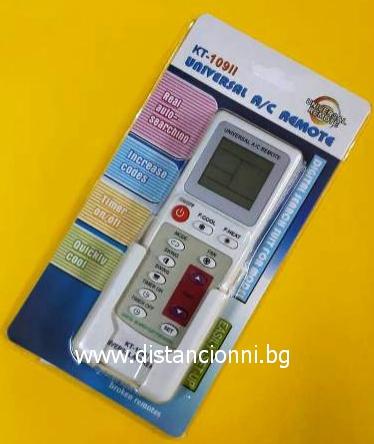Универсално дистанционно управление за климатик KT-109 II