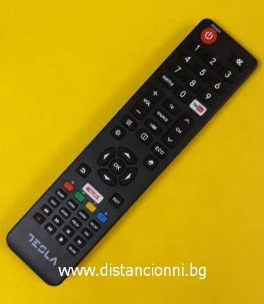 Оригинално дистанционно управление за TESLA SMART TV