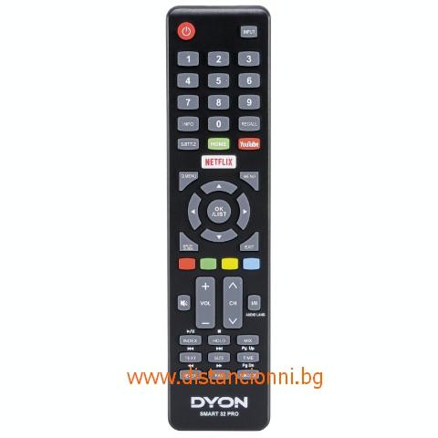 Дистанционно управление за DYON SMART 32 PRO