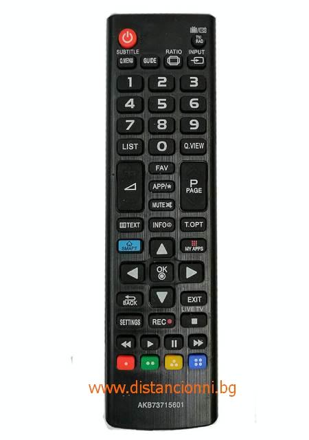 Дистанционно управление за LG AKB73715601
