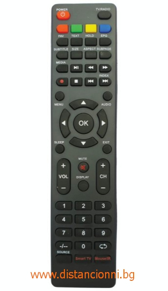 Дистанционно управление за NEI SMART TV