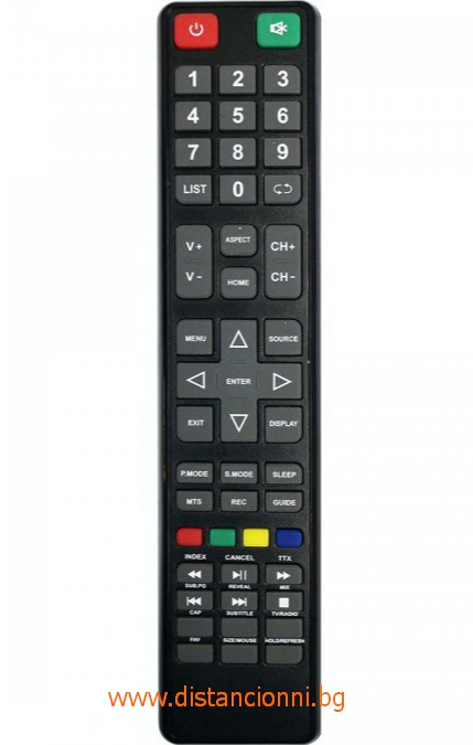 Дистанционно управление за DIAMANT SMART TV