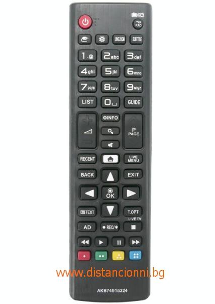 Дистанционно управление за LG AKB 74915324